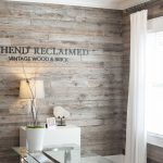 Grey Barnsiding Accent Wall