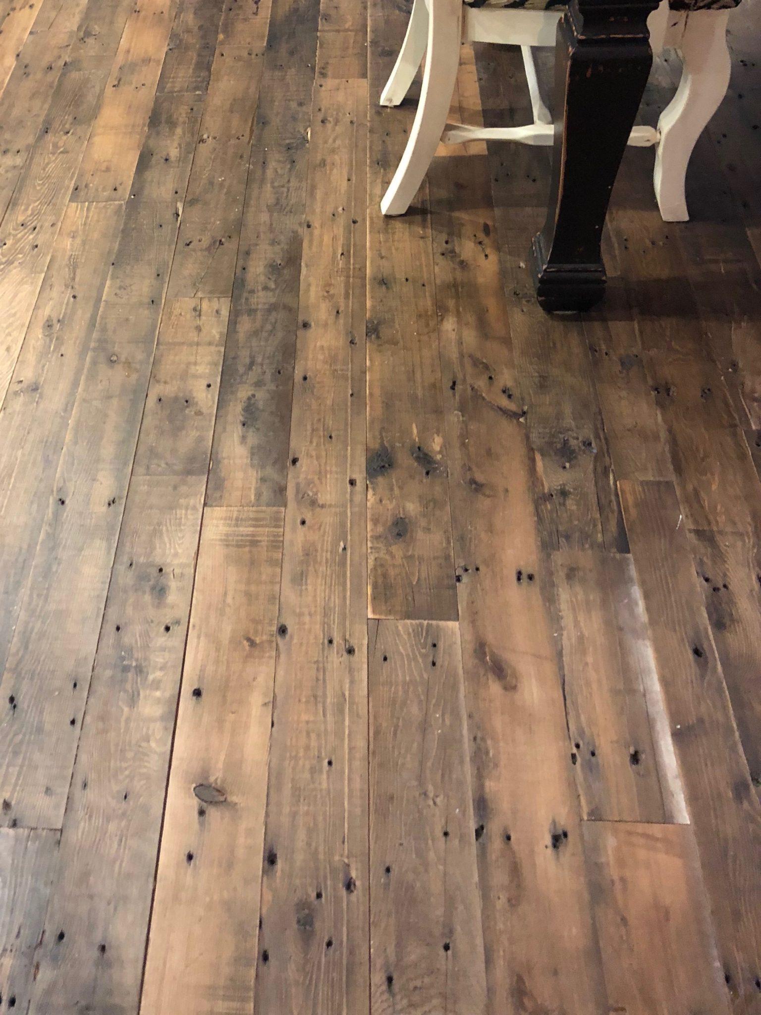 Antique Hemlock Solid Plank Flooring