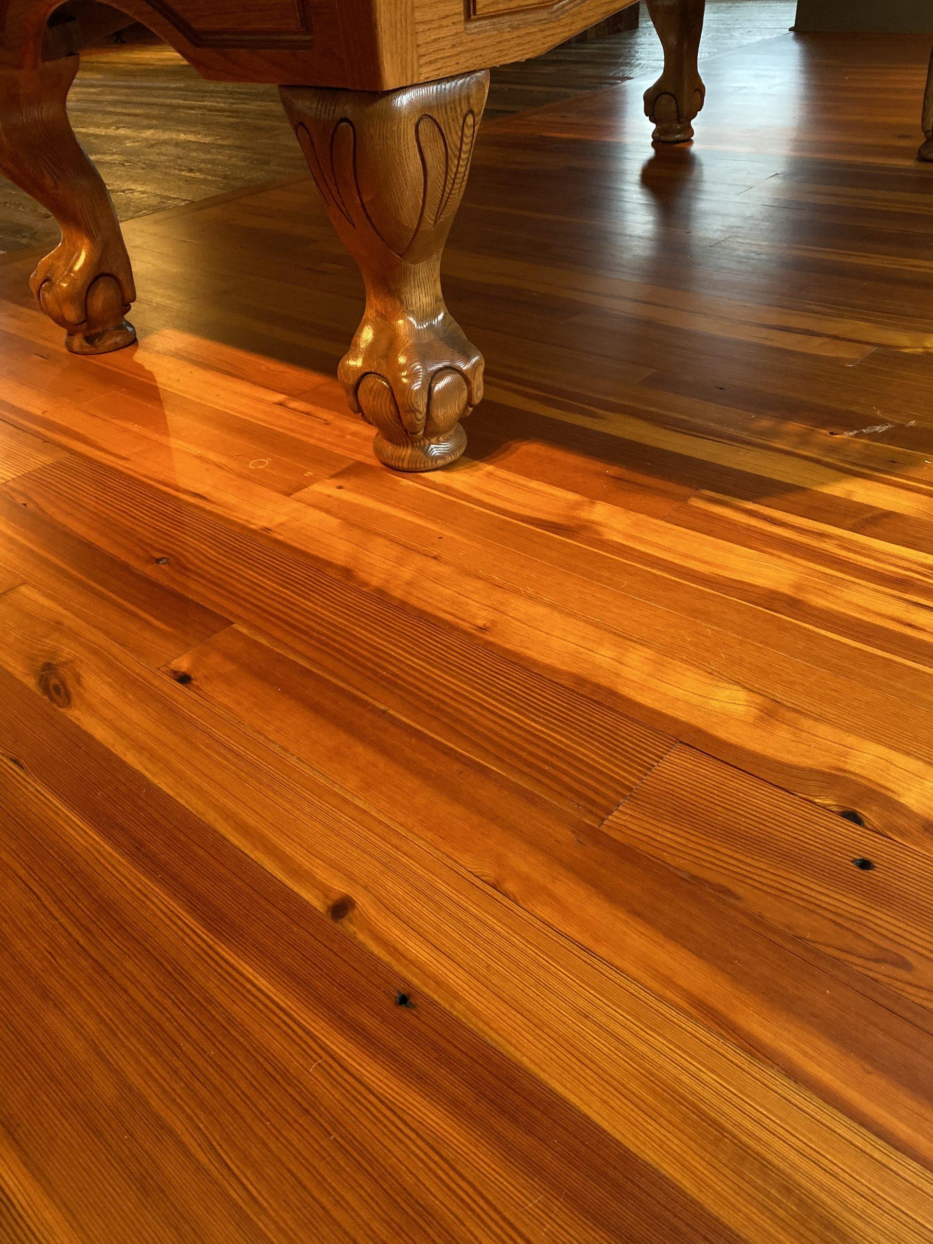 Classic Quartersawn Heart Pine