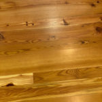 Select Grade Antique Heart Pine with Clear Water-based Polyurethane