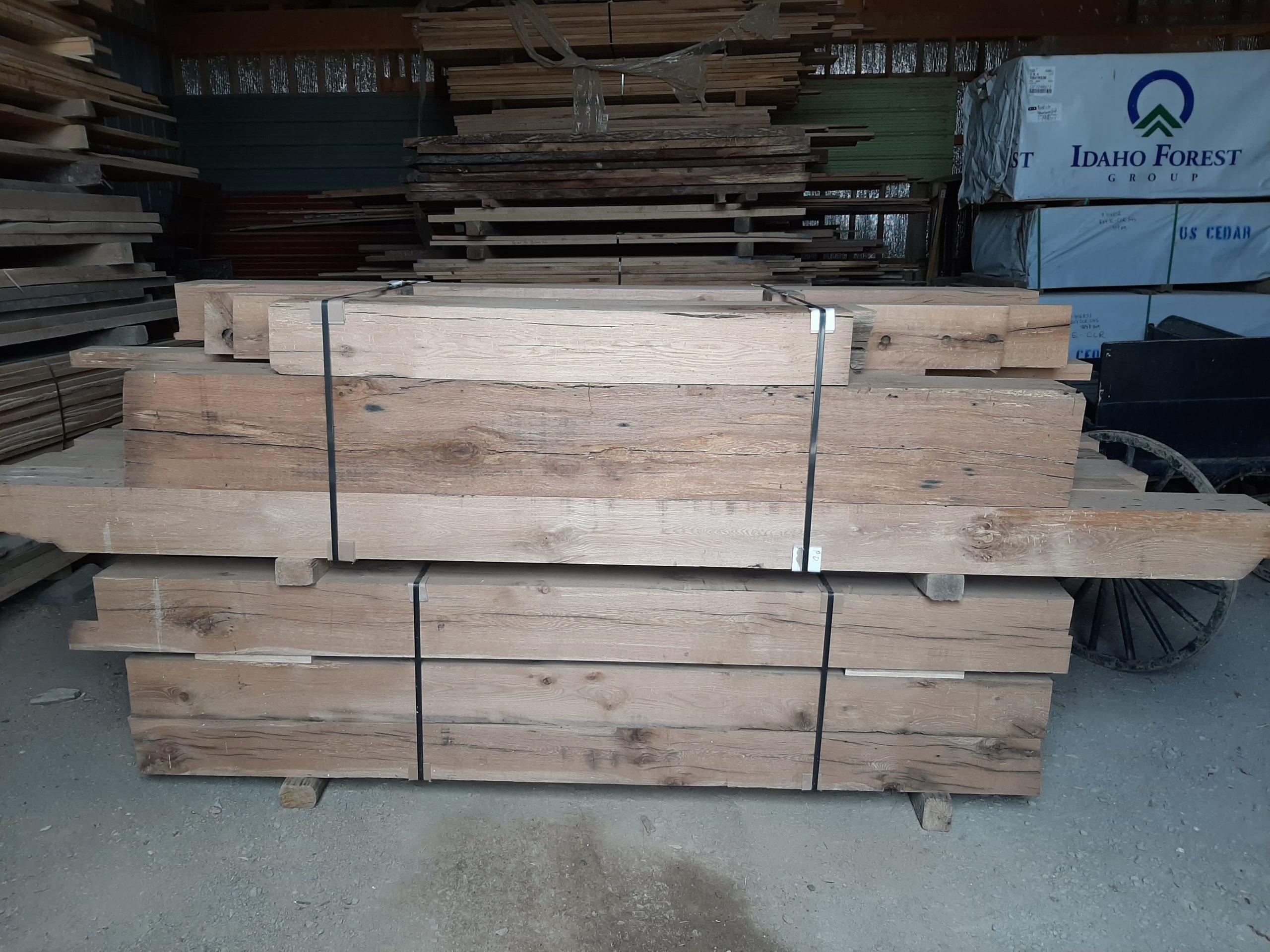 antique-white-oak-s4s-beams-2