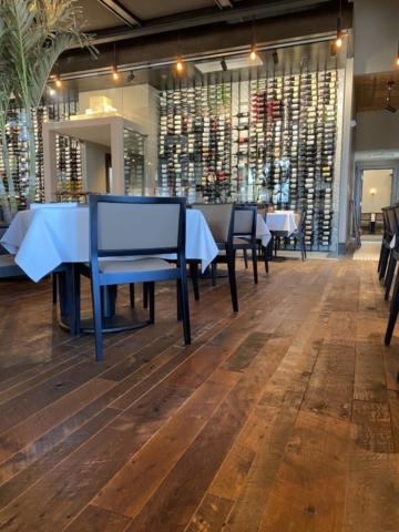 Original Face Reclaimed Oak Prefinished Engineered Flooring - Epic Chophouse