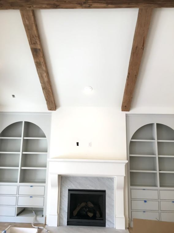 Antique Hand Hewn Beams Mixed Softwoods