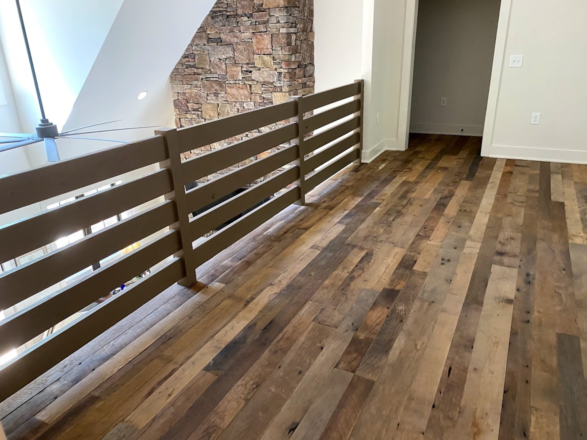 Original Face Reclaimed Oak Flooring