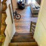 Original Face Reclaimed Oak Flooring and Stair Treads