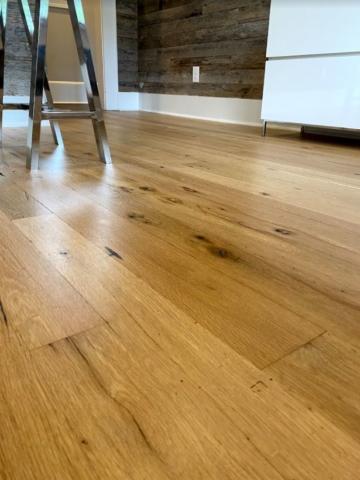 Antique White Oak Smooth Face Flooring