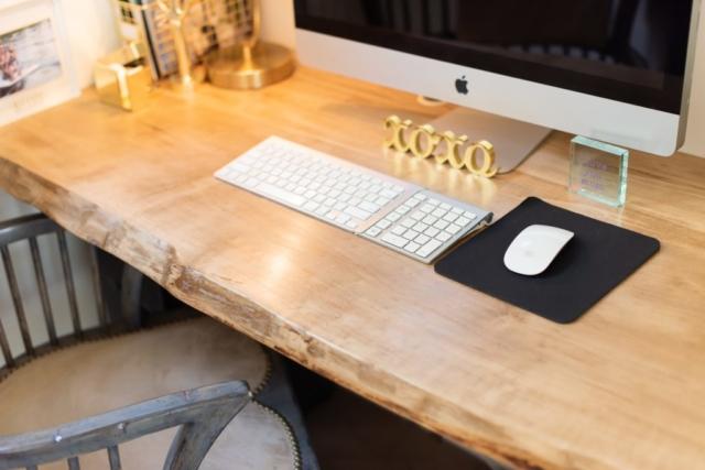 Southend Reclaimed - Live Edge Desk