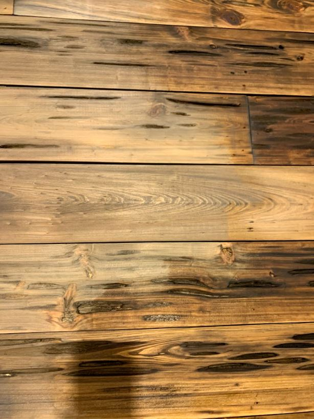New Pecky Cypress Ceiling Planking