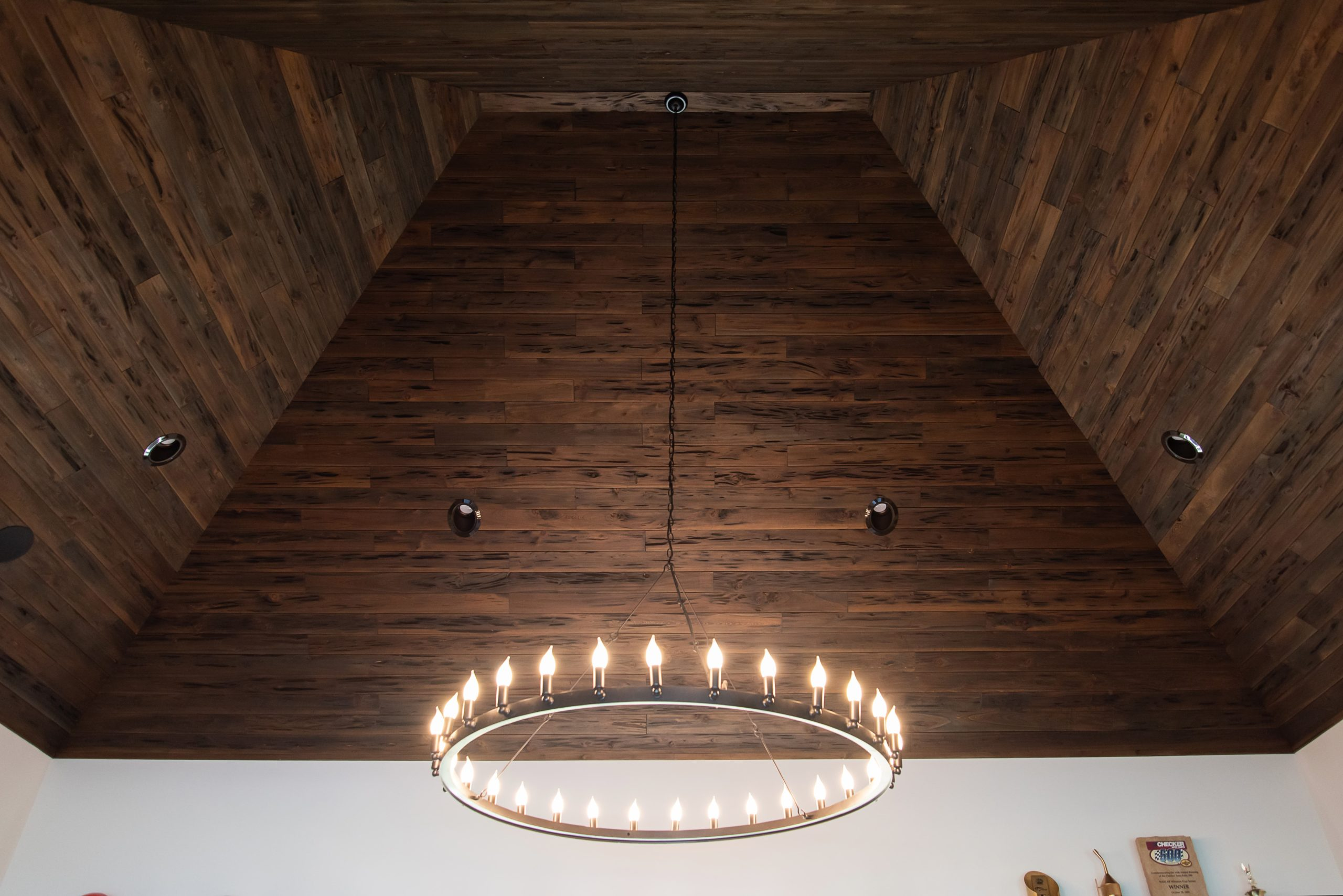 Southend Reclaimed - New Pecky Cypress Ceiling Planking 5