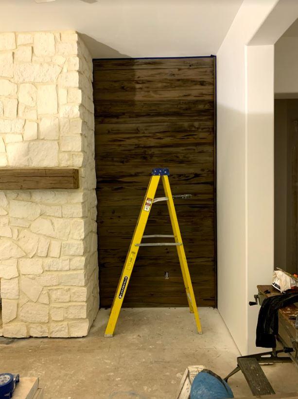 New Pecky Cypress Wall Paneling
