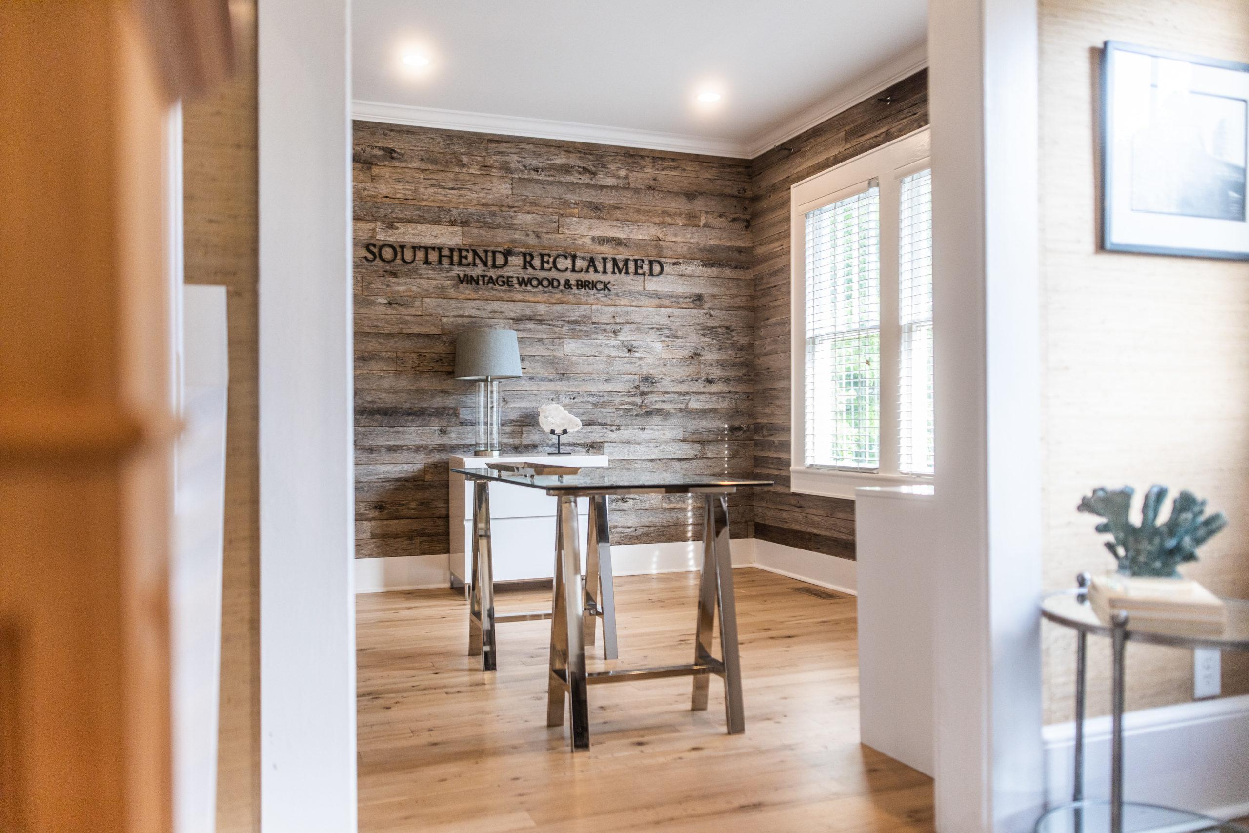 Weathered Grey Barnsiding + Smooth Face Antique Oak Flooring